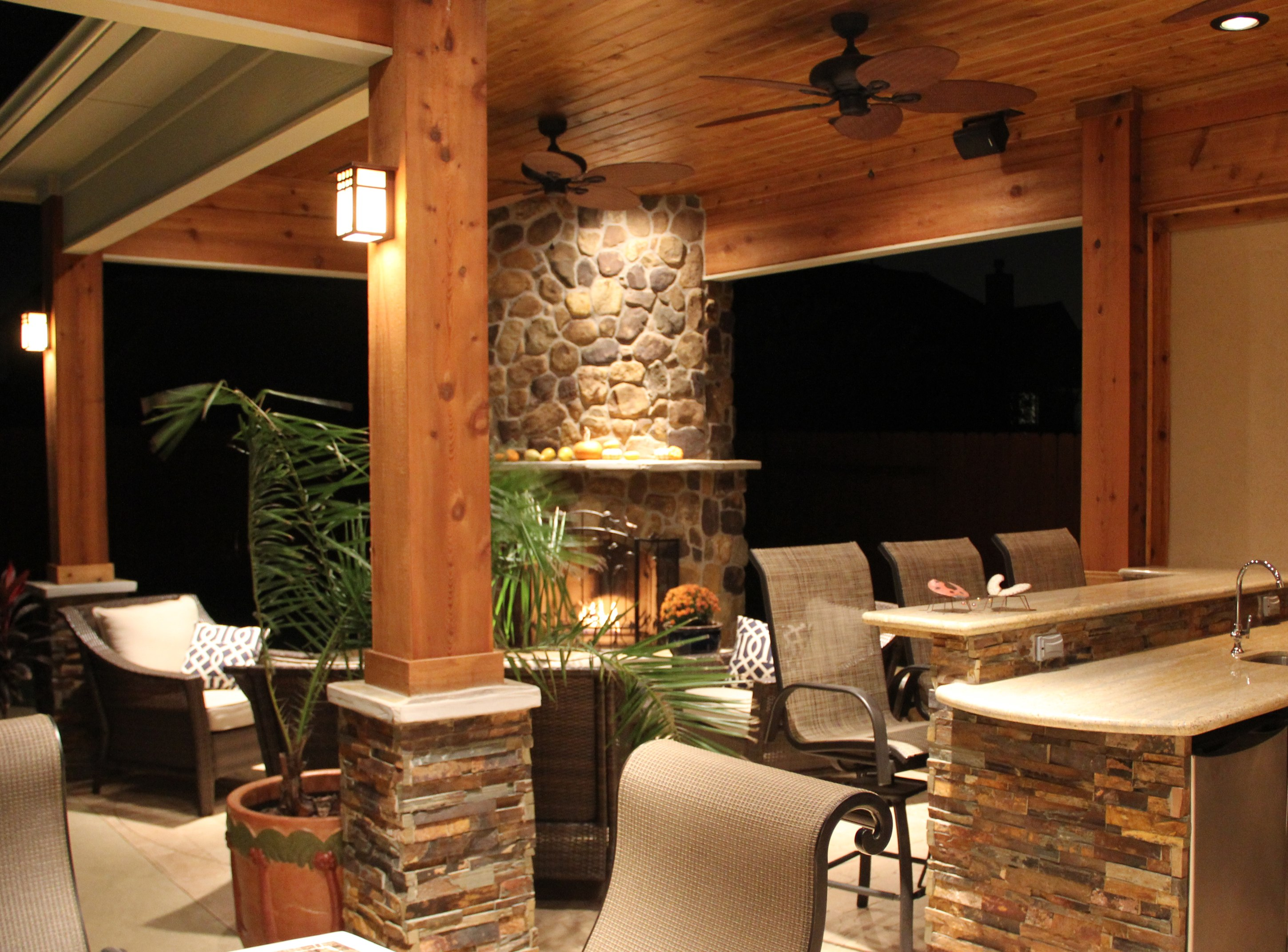 Project of the Month: December 2011 - Texas Custom Patios on Outside Patio Designs id=59297