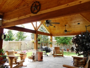 How To Choose A Finish For Your Patio Ceiling Texas Custom