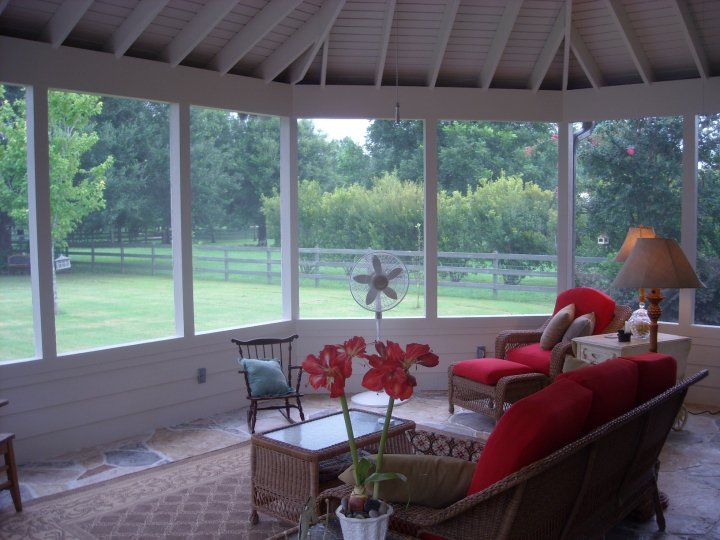 Adding A Screen To Your Outdoor Living Room And Creating A Screened In  Porch Is A Very Effective Way To Keep Bugs Away. If You Want To Keep Things  More Open ...
