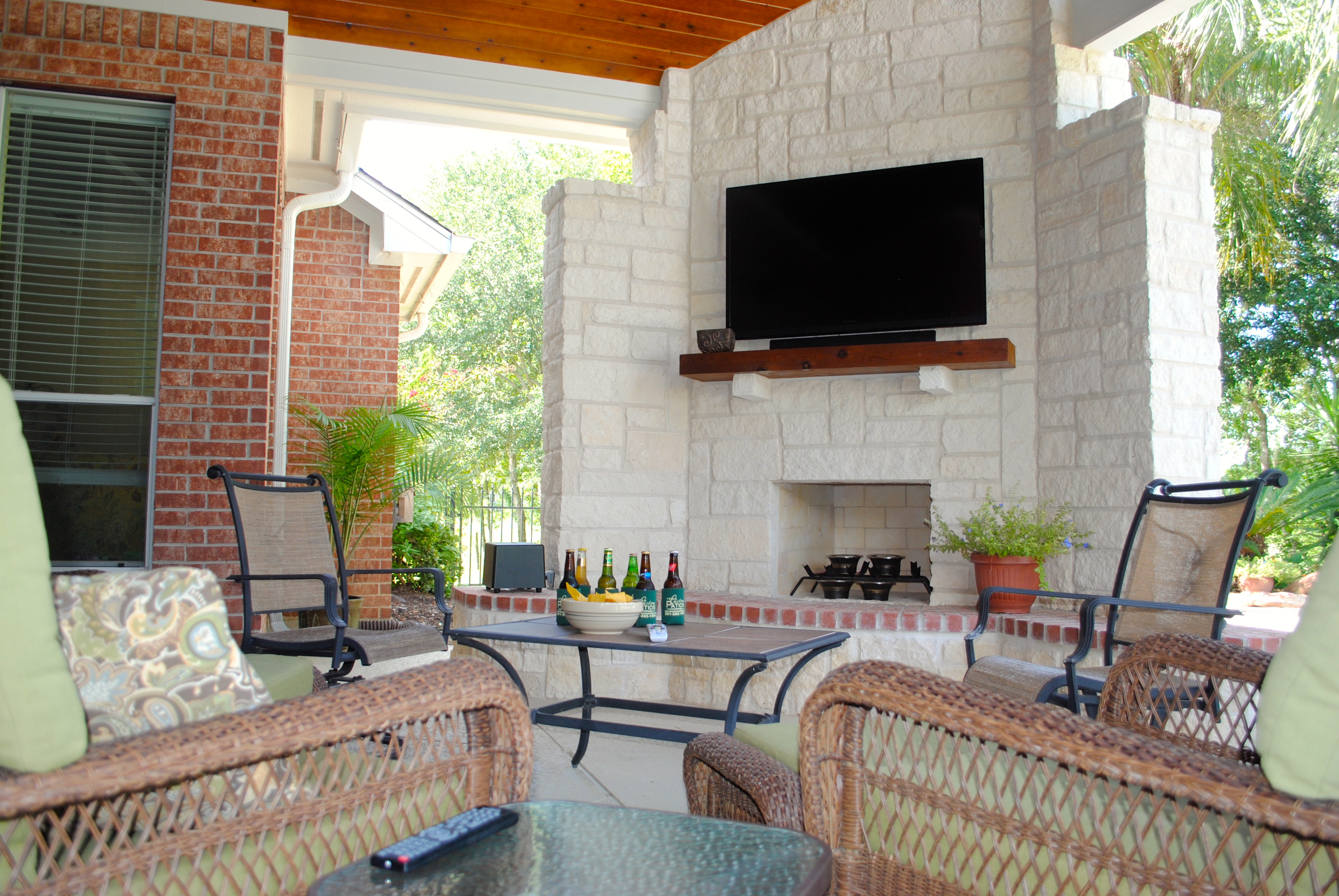 Custom Outdoor Patios : Texas Custom Patios  Your DesignBuild Outdoor Living Experts