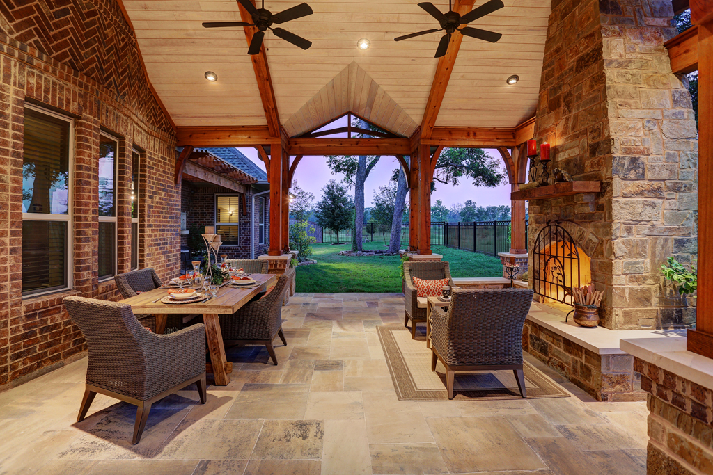 Backyard, Ceiling Finish, Construction, Custom Patios, Fireplace, Grill,  Grilling, Houston, Outdoor Cooking, Outdoor Design, Outdoor Fireplace, ...